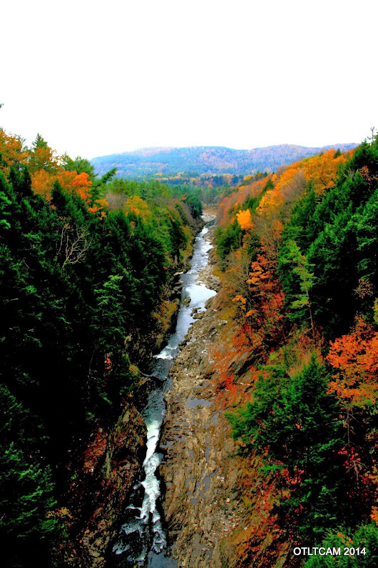 Leaf Peeping at Vermont's Little Grand Canyon