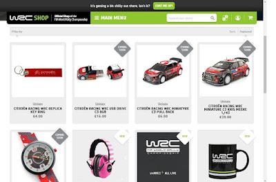 WRC Official Merchandise