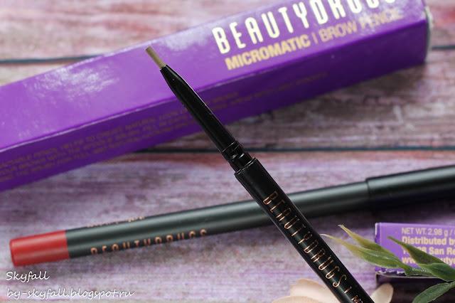 карандаш для бровей Beautydrugs Micro Matic, отзывы