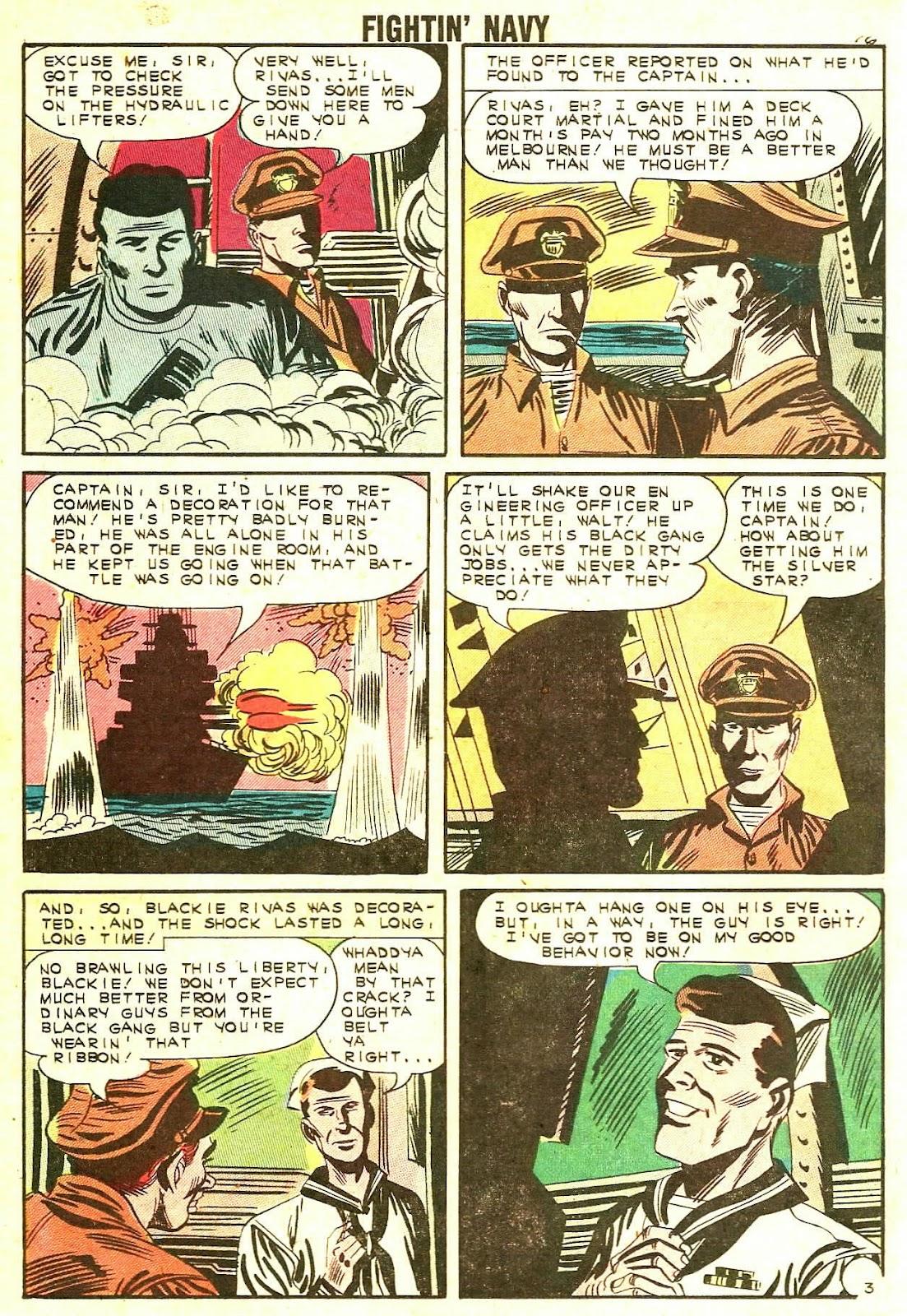 Read online Fightin' Navy comic -  Issue #110 - 18