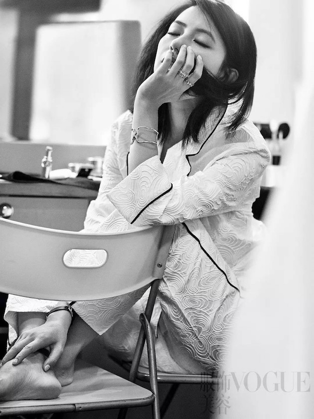 Gao YuanYuan, Gao YuanYuan Vogue, Gao YuanYuan Vogue China, Gao YuanYuan 2016, Gao YuanYuan Paris, Gao Yuanyuan Paris Fashion Week, Gao Yuanyuan Chaumet, 高圆圆