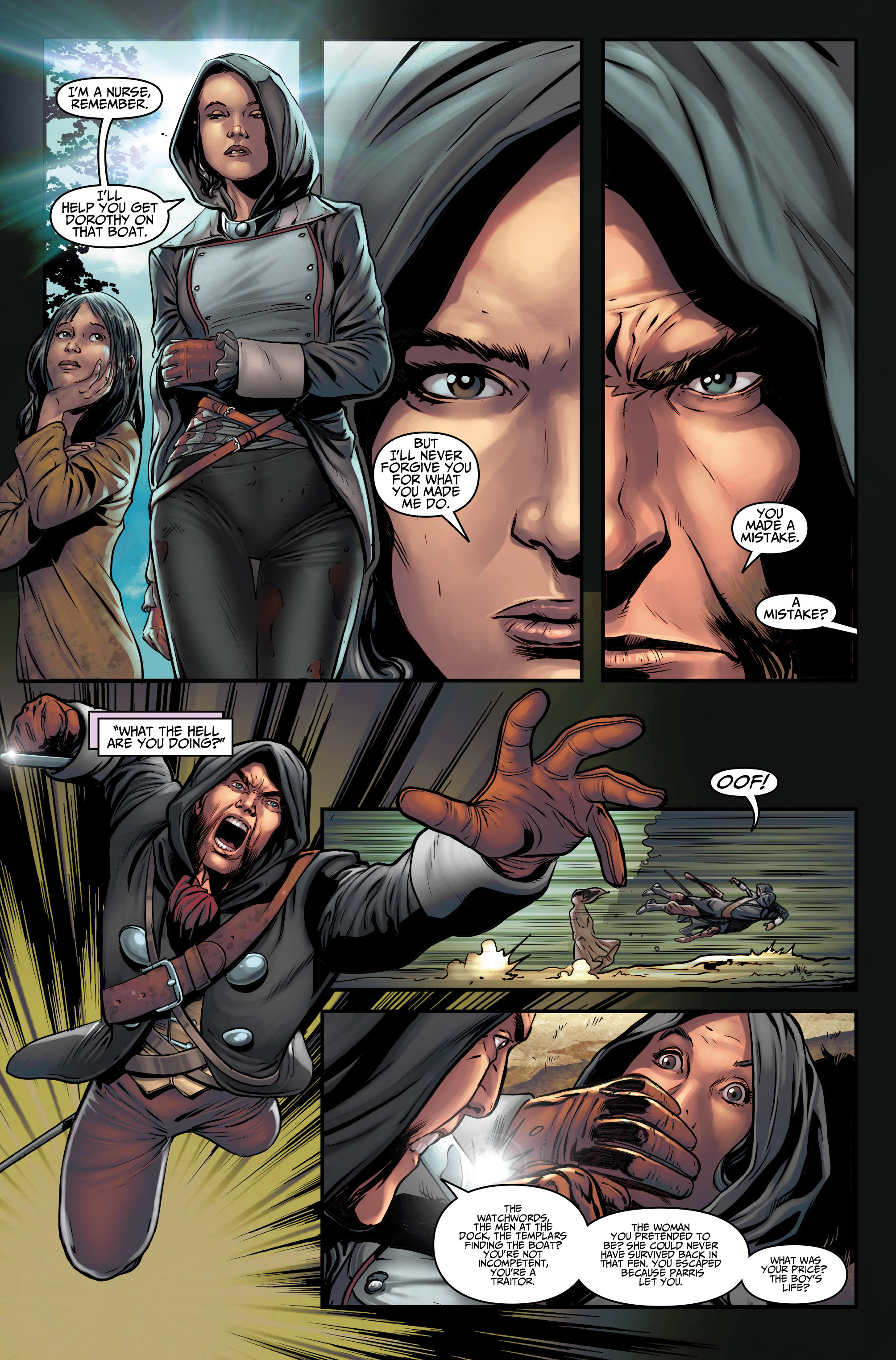 Read online Assassin's Creed (2015) comic -  Issue #3 - 24