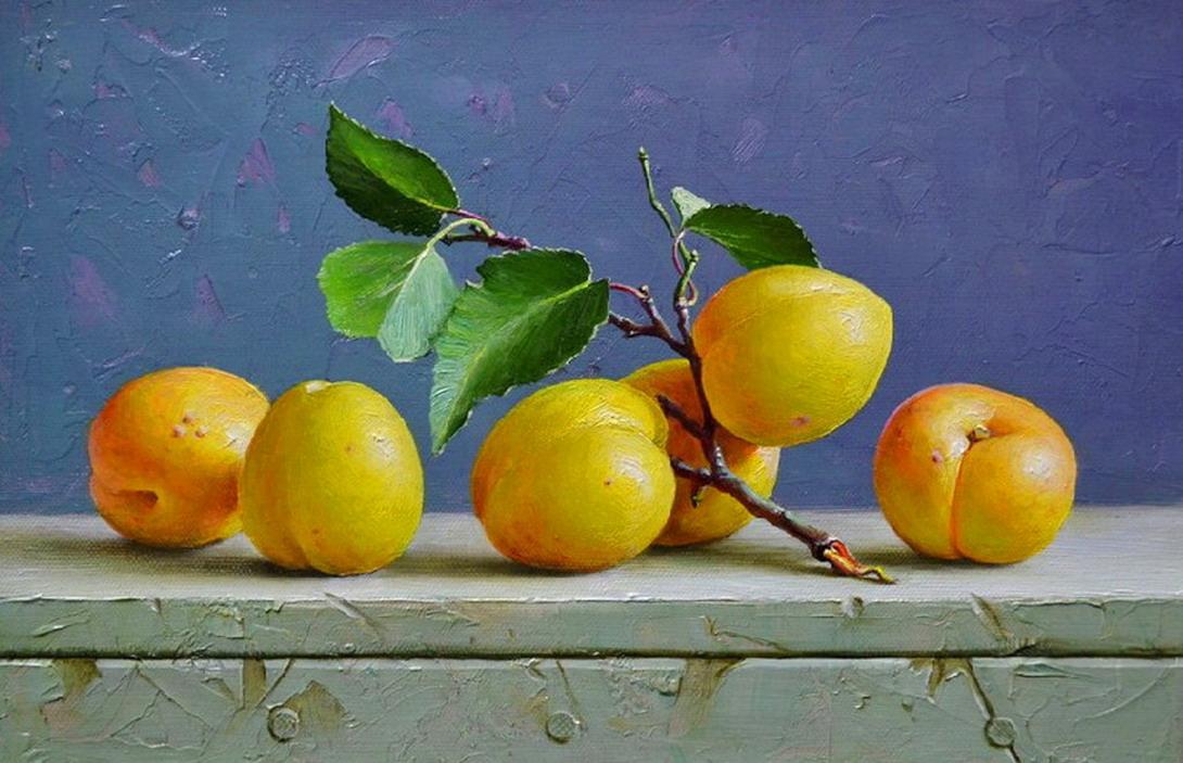 Cuadros modernos pinturas y dibujos bodegones de - Fotos de bodegones de frutas ...