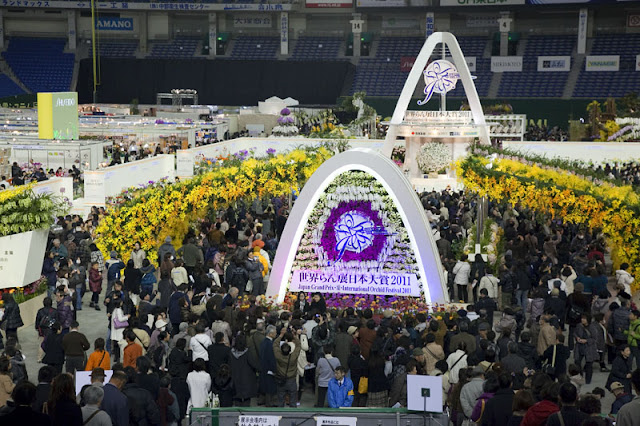 Japan Grand Prix International Orchid Festival at the Tokyo Dome, Tokyo