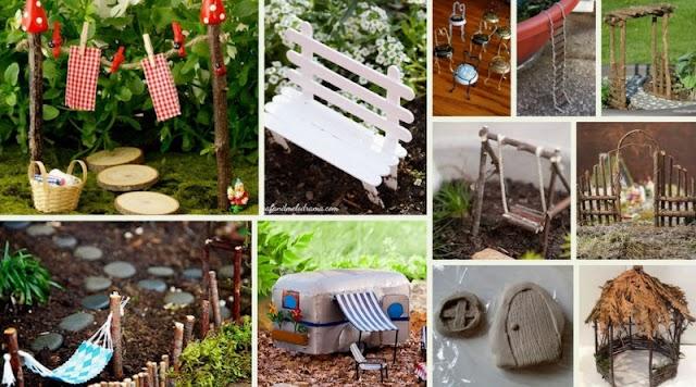 50+ Μινιατούρες για Fairy Gardens