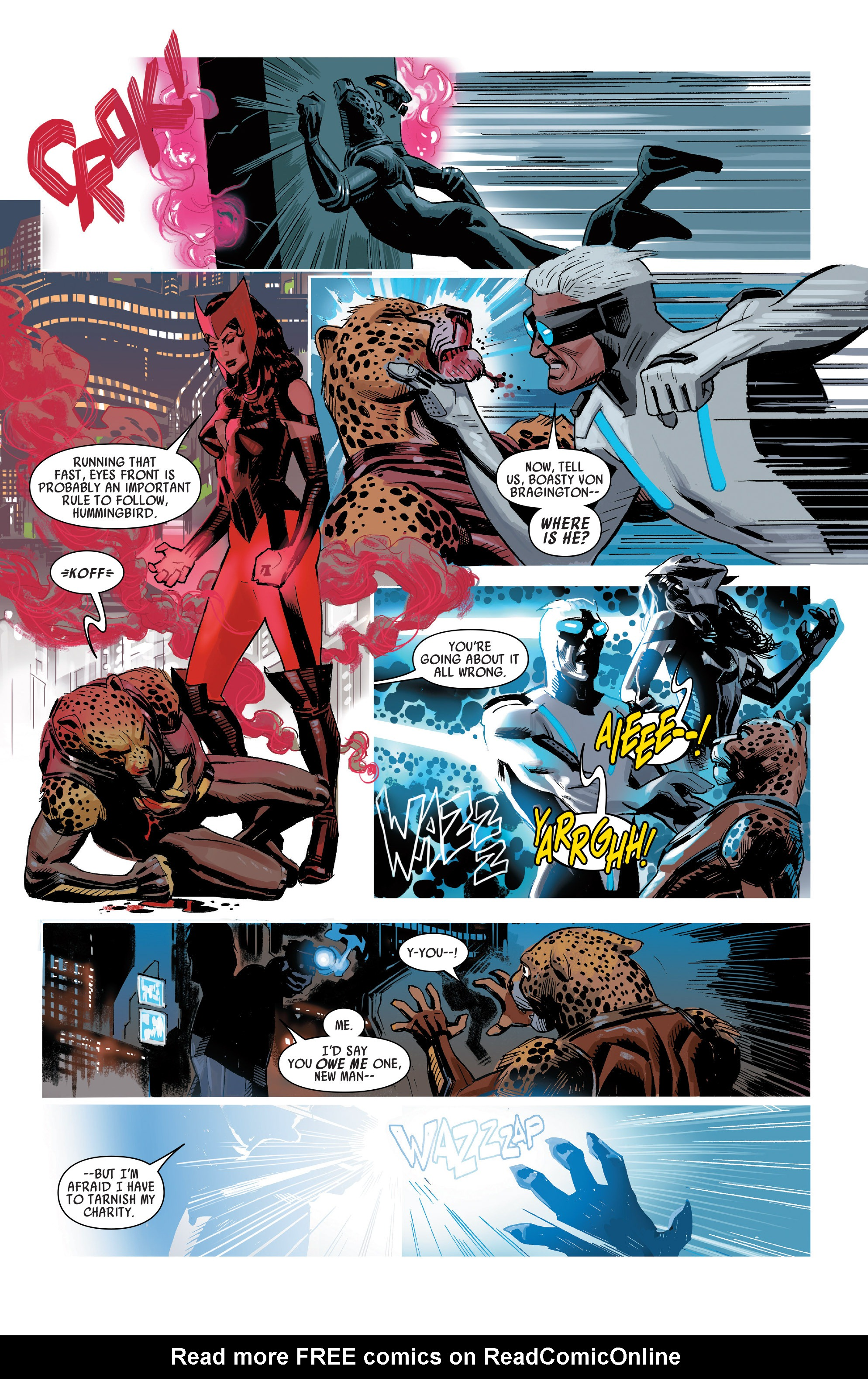 Read online Uncanny Avengers [I] comic -  Issue #1 - 6