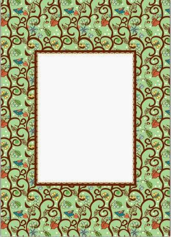 From the 70´s: Free Printable Frames, Borders and Labels ...