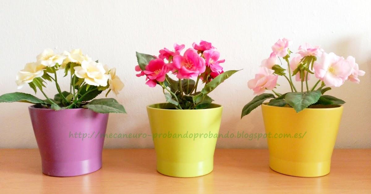 Probando probando fejka la planta artificial de ikea - Plantas de plastico ikea ...