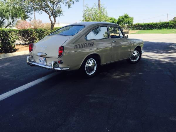 1969 Volkswagen Type 3 Fastback Fully Automatic Auto