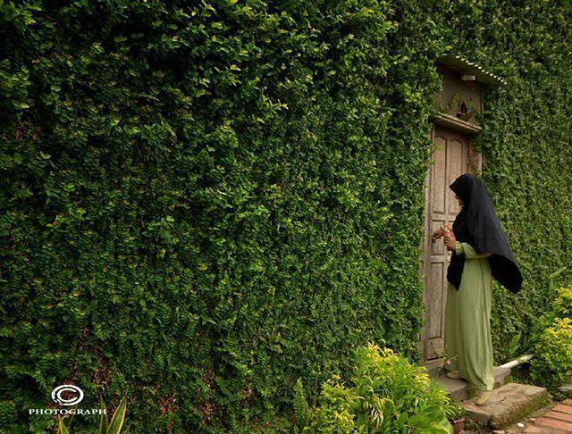 Dinding Sumanding, Tembok Hijau Khas Banjar Patroman