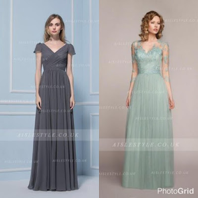 http://www.aislestyle.co.uk/v-neck-illusion-34-sleeves-column-tulle-bridesmaid-dress-p-7412.html