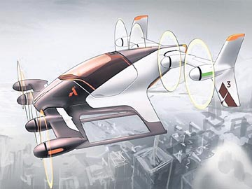Airbus Vahana Book Online Air taxi Ticket in Smartphone