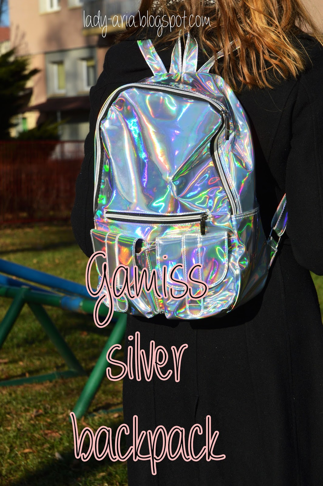 Gamiss Silver Backpack