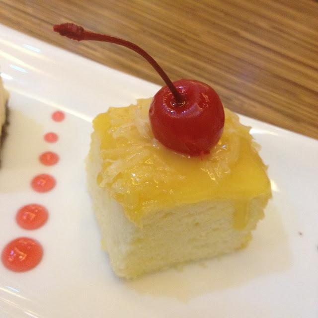 Pastillas cake at The Grain Restaurant
