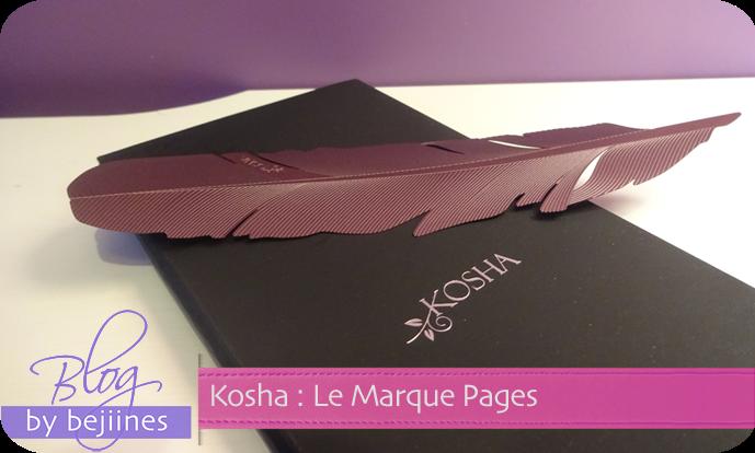 Marque-Pages Kosha - Héritage