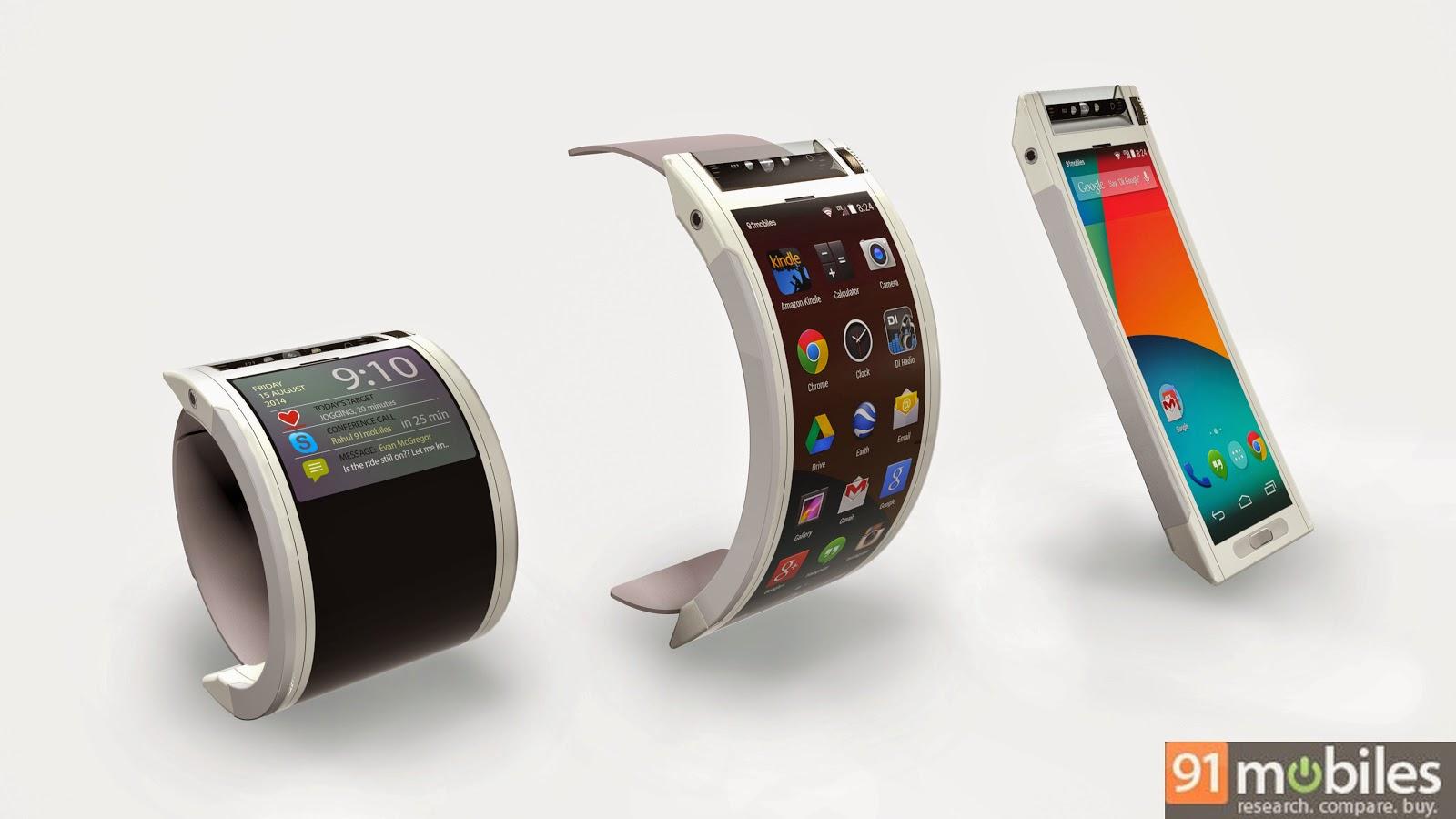 Google Nexus 360 can convert into a watch