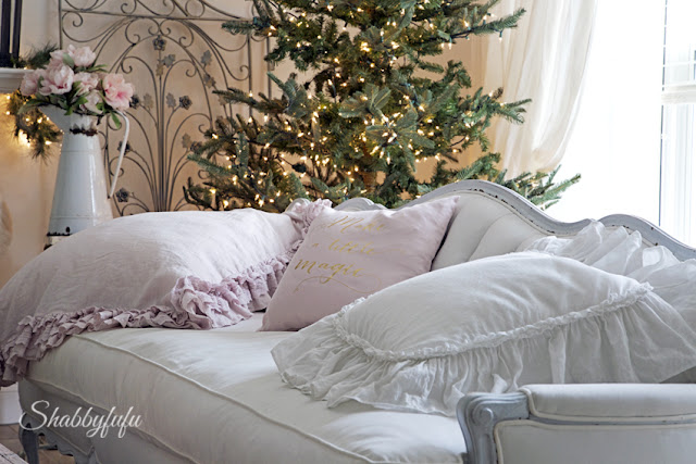 romantic country design for christmas