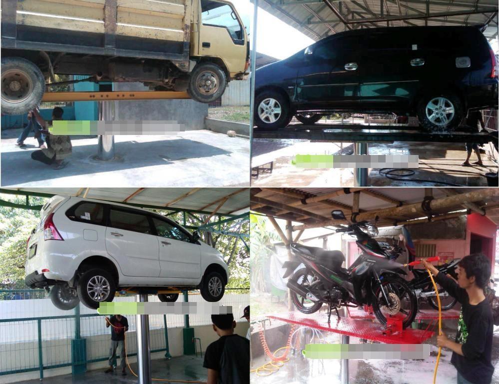 cuci motor dan mobil