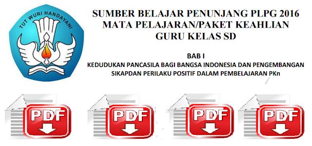 Materi PLPG Guru SD Semua Mata Pelajaran