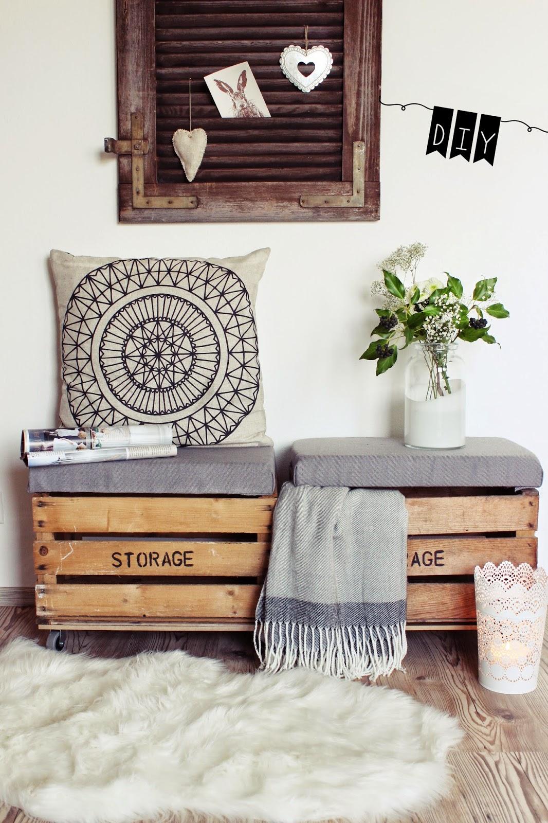 s 39 bastelkistle diy sitztruhe aus alten holzkisten. Black Bedroom Furniture Sets. Home Design Ideas