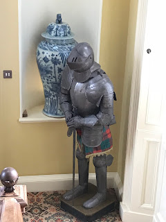 coat of armour in stobo castle and spa
