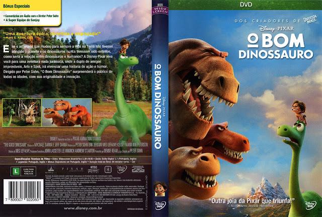Capa DVD O Bom Dinossauro