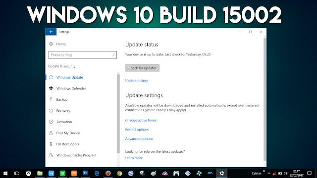 18 Fitur Baru yang akan Tersedia di Windows 10 Build 15002, Perkiraan!