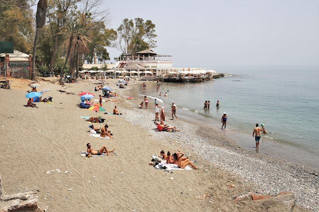 Playa los Baños del Carmen