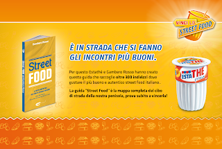 Logo Con Estathè e Gambero Rosso vinci la guida Street Food