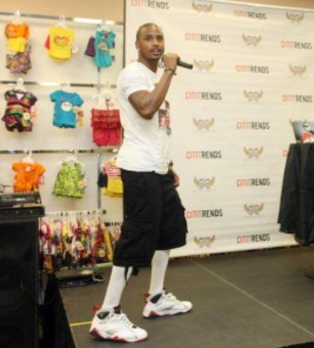 aa6f640233b3 Celeb Sneaker Game  Trey Songz Rocking Air Jordan Olympic 7 Sneakers