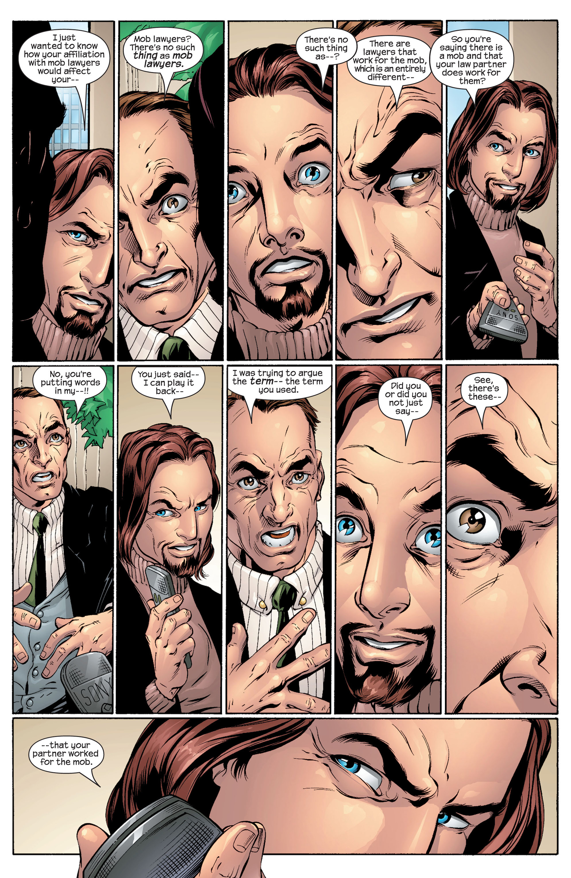 Read online Ultimate Spider-Man (2000) comic -  Issue #48 - 18