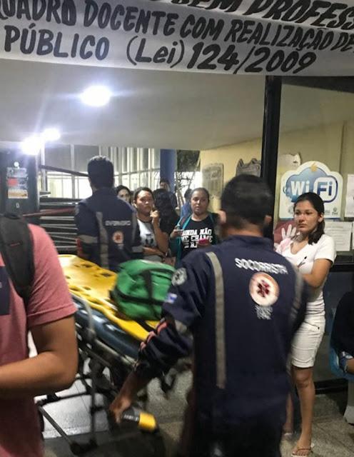 Jovem esfaqueia mulher dentro da Uespi; alunos relatam momentos de tensão