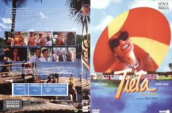 Carátula dvd: Tieta do Agreste (1996)
