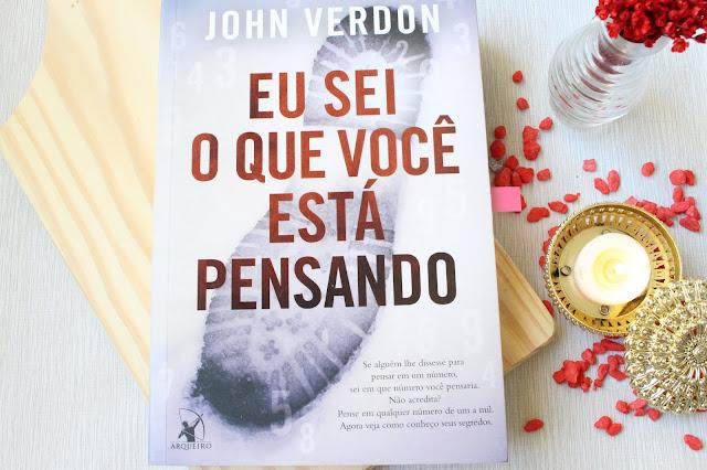 eu sei o que você está pensando John Verdon capa