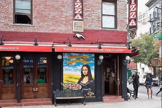 Lombardi's - a primeira pizzaria de Nova York