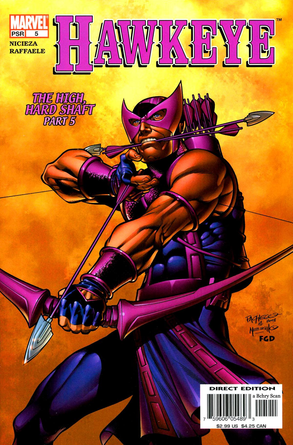 Hawkeye (2003) Issue #5 #5 - English 1
