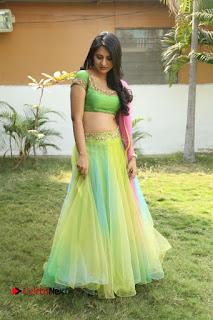 Actress Nikitha Bisht Stills in Lehenga Choli at Pochampally Ikat Art Mela Launch  0370.JPG