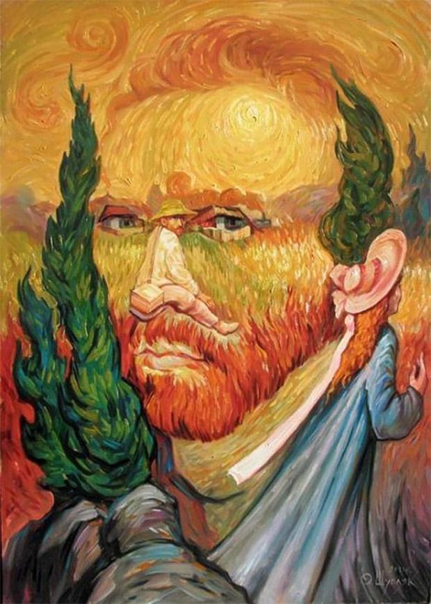 Van Gogh - Oleg Shuplyak - Incríveis ilusões