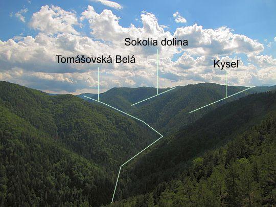Tomaszowska Bela i jej otoczenie.