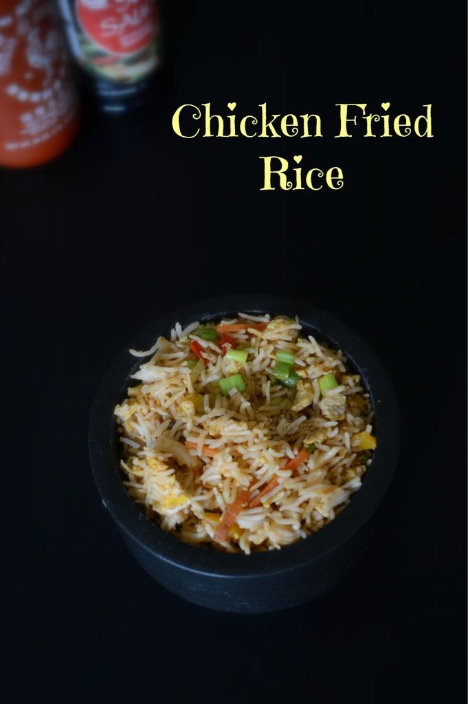 Paru's Kitchen: Chicken Fried Rice Recipe | Indo-Chinese ...