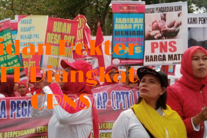 Berita Terbaru Bidan dan Dokter Ptt Diangkat Pns
