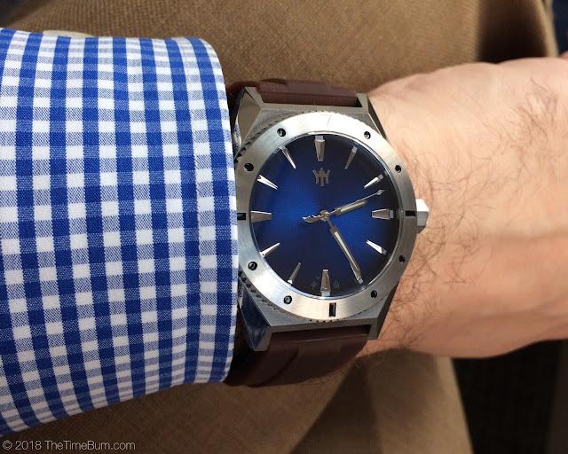 Maison Celadon Yue Fei wrist shot