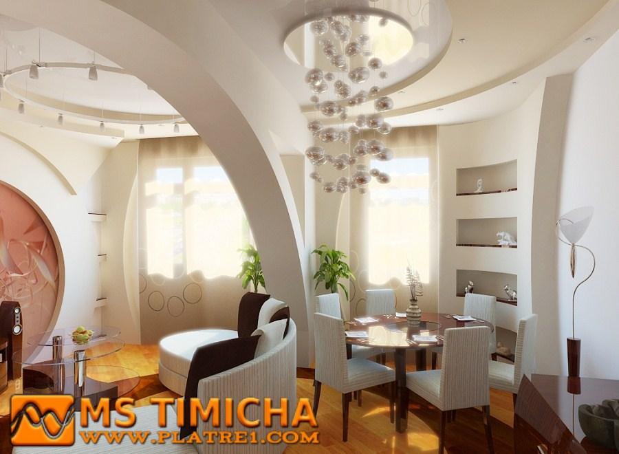 Platre maroc decoration platre plafond - Decor platre maroc ...