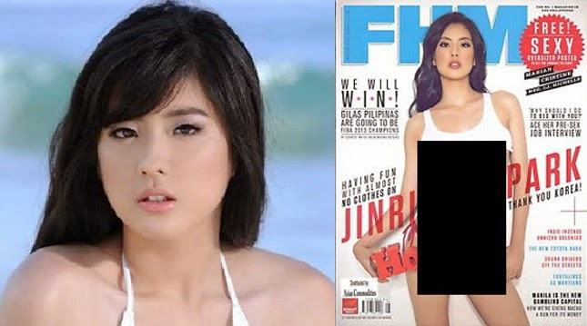 Jinri Park Cover and UNO Local Men's Magazine in Philippines Issue