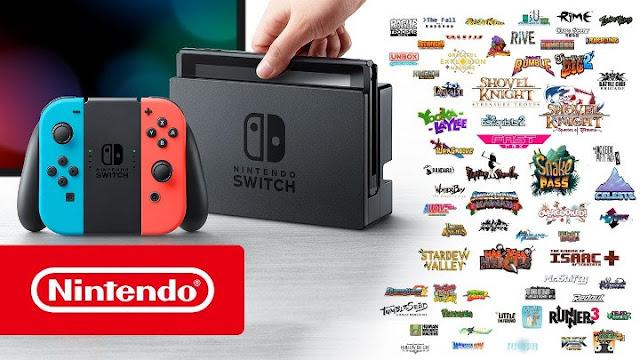 Nintendo lanzará en  Switch 20 indies por semana