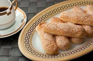 """Бисквитное печенье """"Савоярди""""(Дамские пальчики)."""