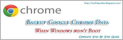 Google Chrome Data Backup