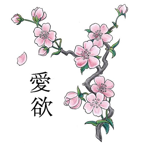 crazy tattoo: Cherry Blossom Tattoo Designs & Their Meanings