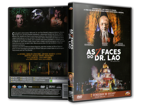 Capa DVD As 7 Faces do Dr. Lao