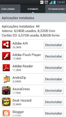 Como liberar espaço de armazenamento no celular Android 1